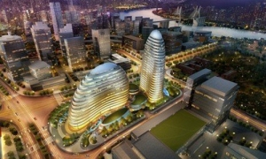 A rendering of the Meiquan 22nd Century via Global Times